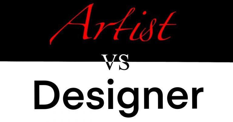 Artist (Artist vs Designer)