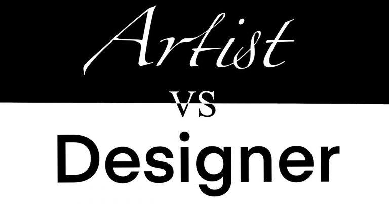 Artist vs. Designer