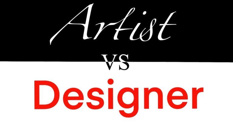 Designer (Artist vs Designer)