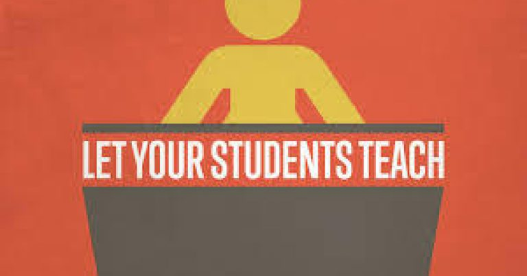 Let Your Students Teach