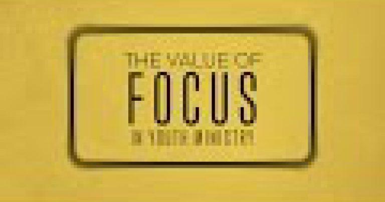The Value of Focus